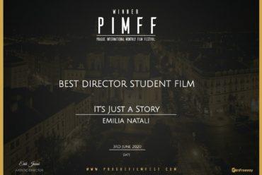 """""""È Solo Una Storia"""" vince il premio """"Best Director Student Film"""""""